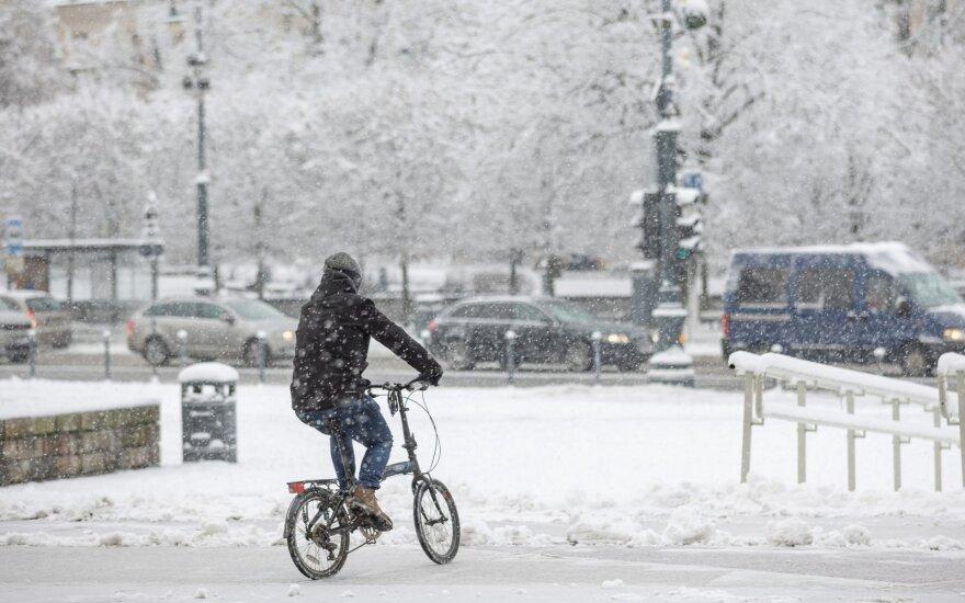 Vilniaus stoties teritorijoje atsiras nauji dviračių takai: sujungs keturis sostinės rajonus