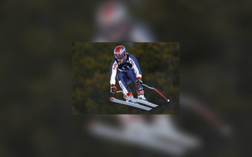 Staigmenos kalnų slidinėjimo pasaulio taurės varžybose Kanadoje