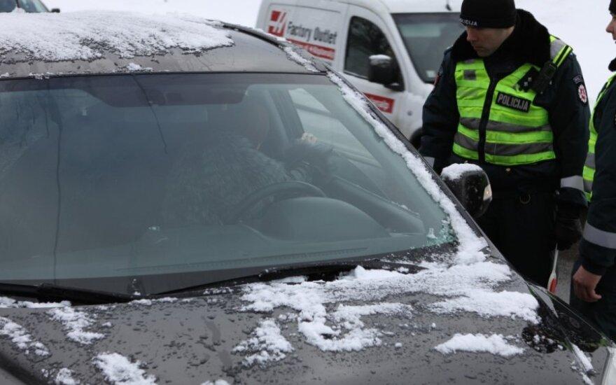 Policijos reidas Vilniuje, Šešuolių gatvėje