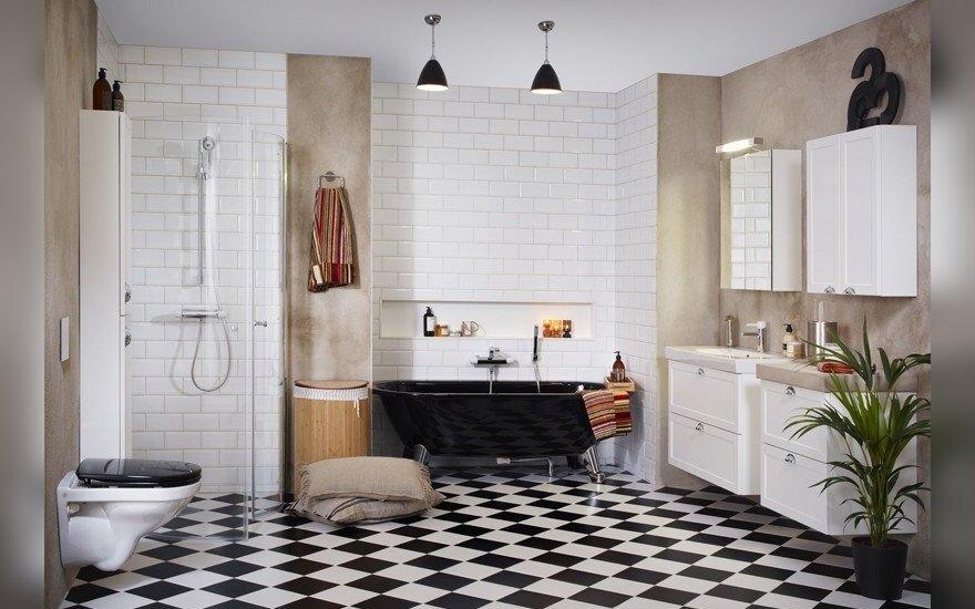 10 nuogų faktų apie skandinavus ir jų vonios kambarį