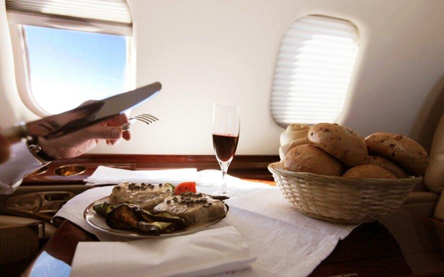 Privačių lėktuvų milijardierius prabangioms kelionėms žada šviesią ateitį
