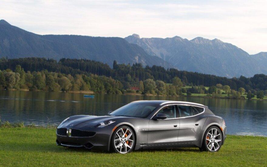 """""""Fisker"""" aplenkė prestižinių automobilių gamintojus"""
