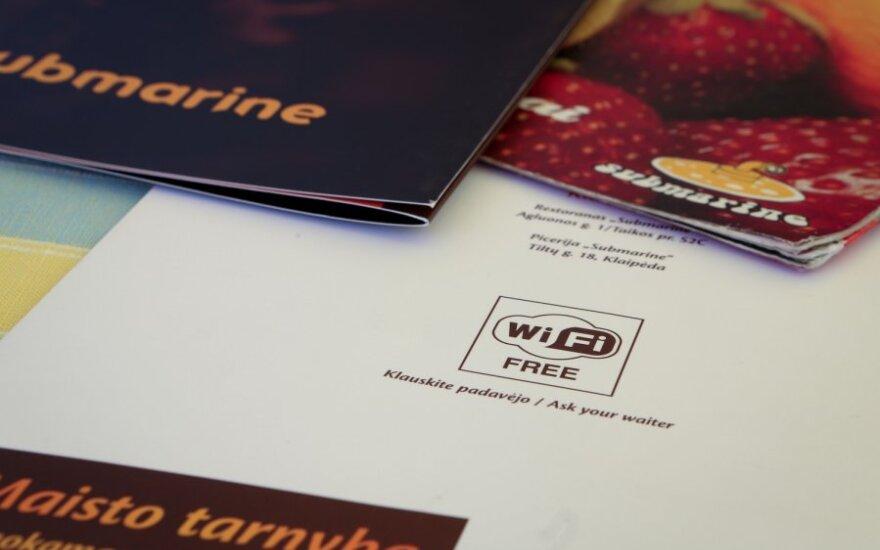 Ką daryti, jei sutrinka WiFi ryšys?