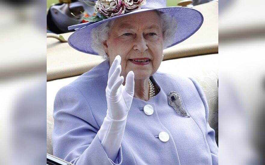 Didžiosios Britanijos karalienė Elžbieta II