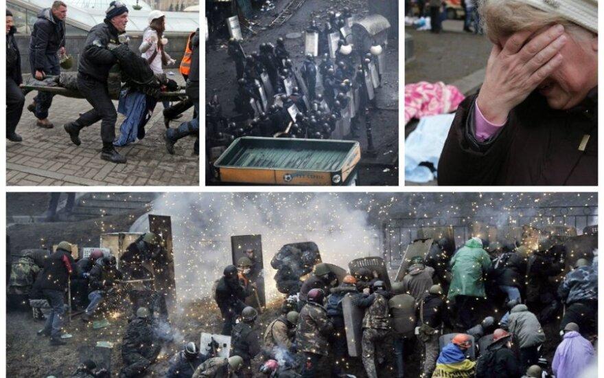 """Nužudyto ukrainiečio tėvas: paskutiniai jo žodžiai buvo """"Tėti, nesijaudink!"""""""