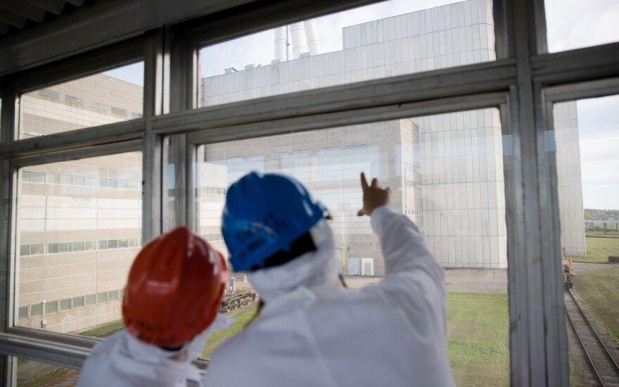 Ignalinos AE patikrinti saugai svarbūs kėlimo įrenginiai, rasta broko