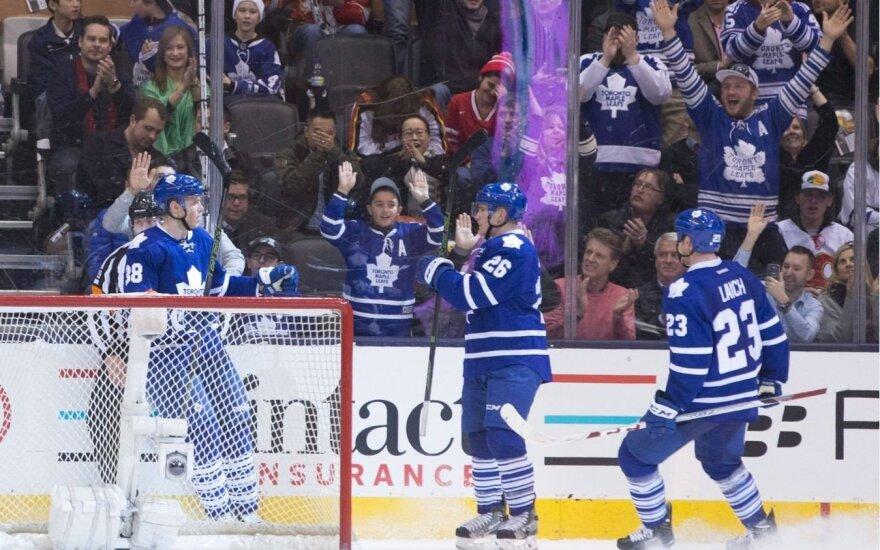 Toronto klubas iškovojo antrą iš eilės pergalę NHL čempionate