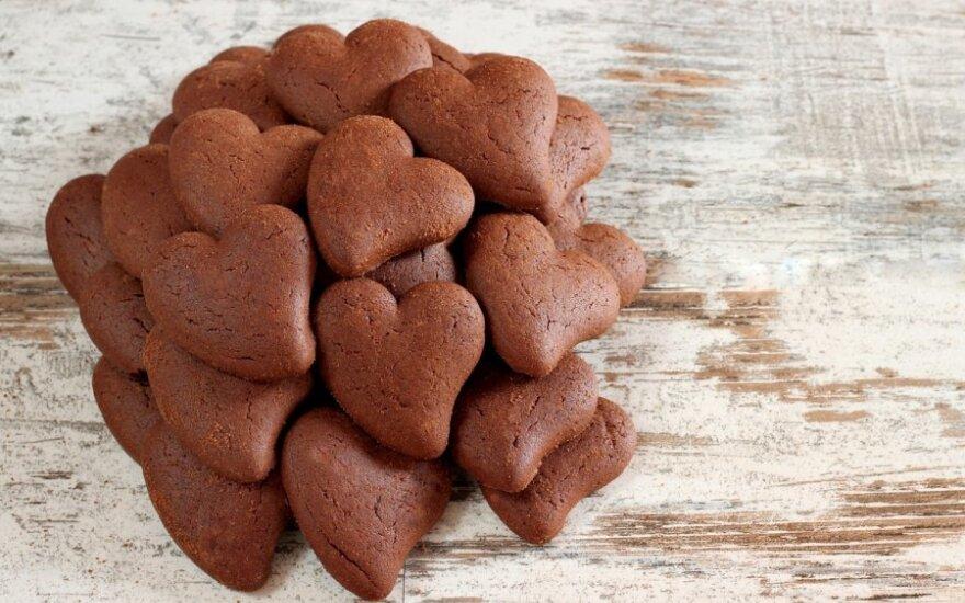 Ne tik tortui, bet ir eglutei: rankų darbo šokoladinė figūrėlė