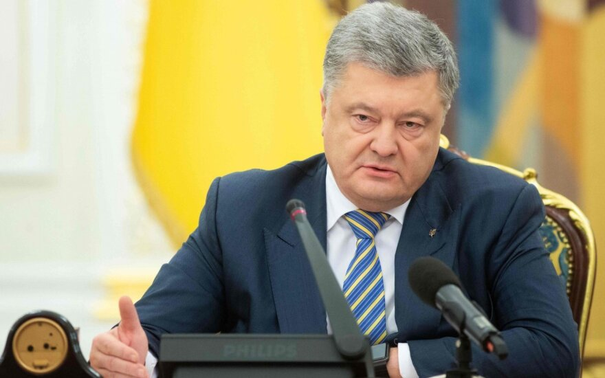 Porošenka sušaukė Nacionalinio saugumo ir gynybos tarybos posėdį