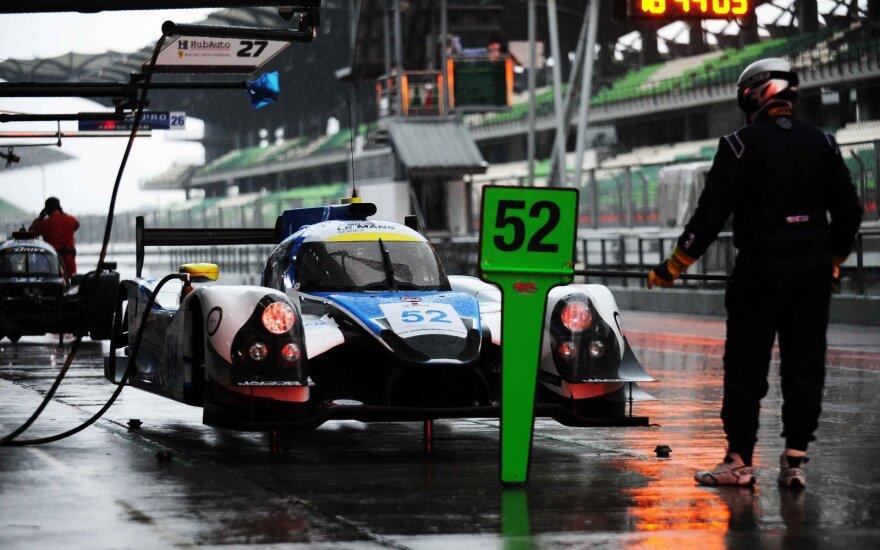 "Gustas Grinbergas Azijos ""Le Mans"" serijoje"