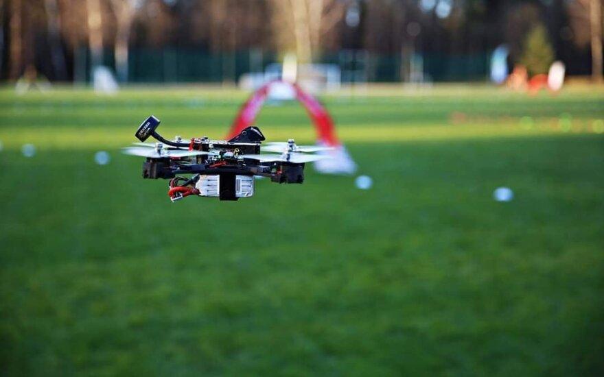 Lenktyninis dronas