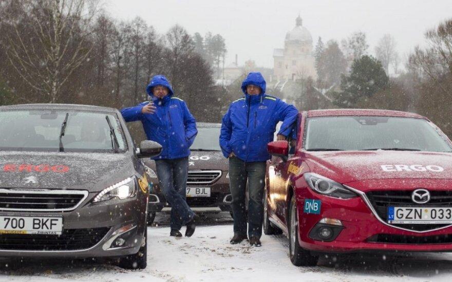 Metų automobilio 2014 bandymų stovykla Druskininkuose