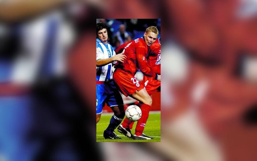 "Edgaras Jankauskas, ""Real Sociedad"""