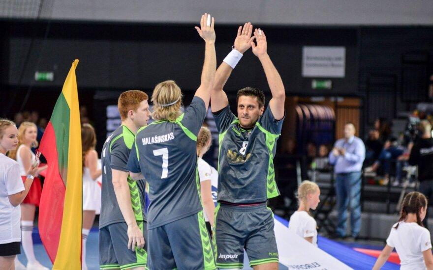 Lietuvos rankinio rinktinei liko vienas žingsnis iki pasaulio čempionato