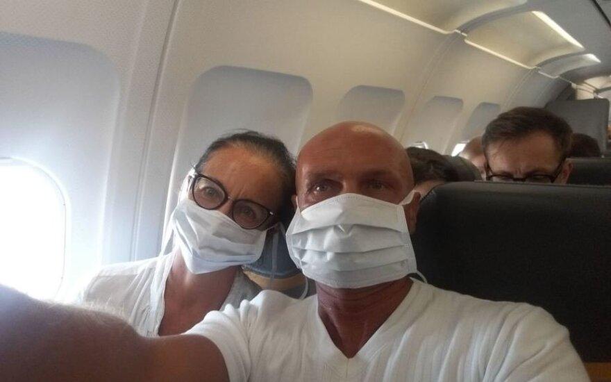 Arminas Lydeka su žmona
