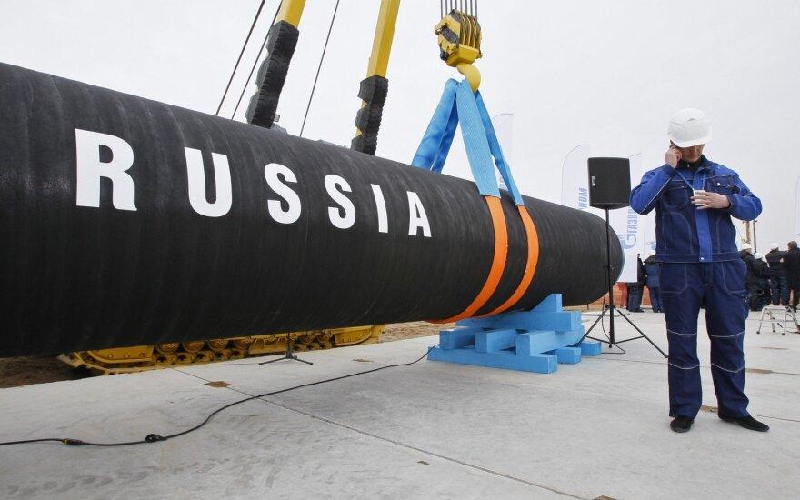 Atsarginis Rusijos planas apraizgyti Europą dujų vamzdžiais realizuojamas pietuose