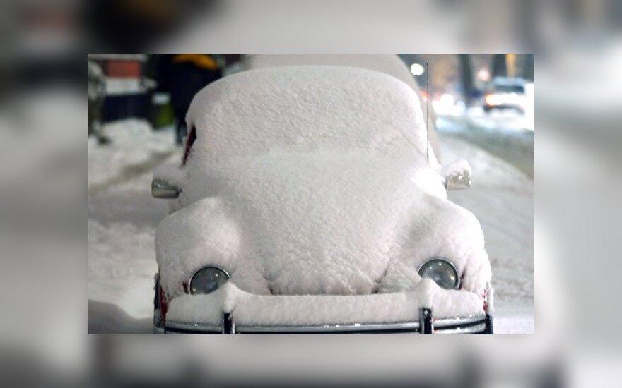 Apsnigtas automobilis, Dortmundas, Vokietija