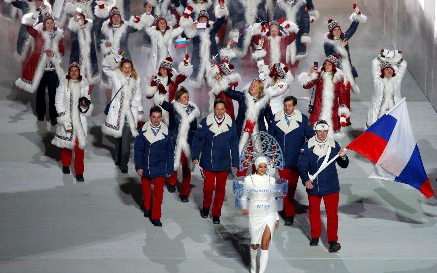 Rusijos delegacija Sočio olimpinėse žaidynėse