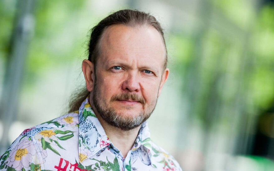 Bogdanas apie naująją savo knygą: skaitai apie Ukrainą, bet galvoji apie Lietuvą