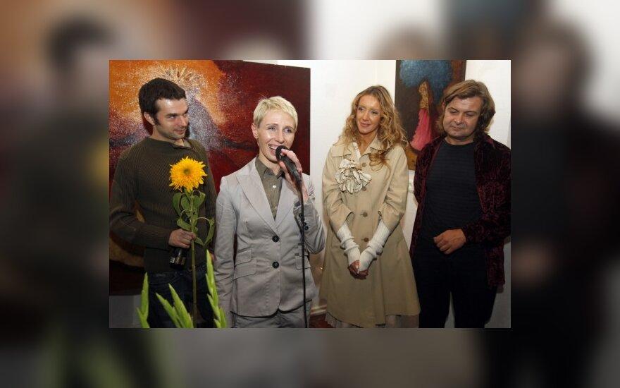 P.Kilbauskas, G.Kilčiauskienė, D.Stachura ir S.Staniūnas