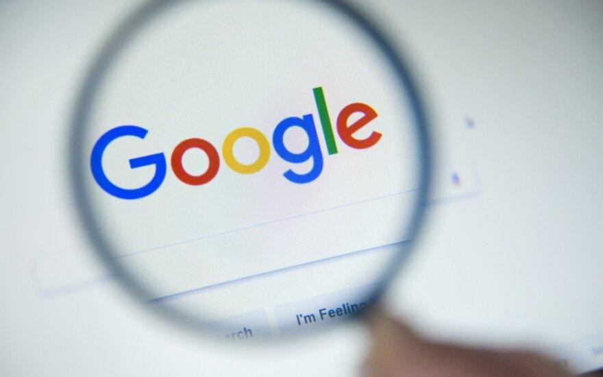 """Šaltiniai: ES """"Google"""" nubaus 4,3 mlrd. eurų bauda"""