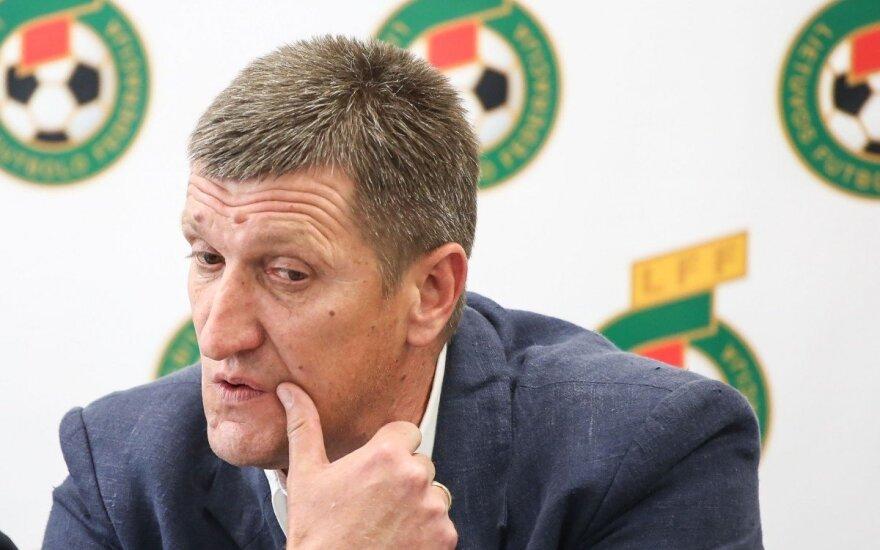 Lietuvos futbolo rinktinės konferencija