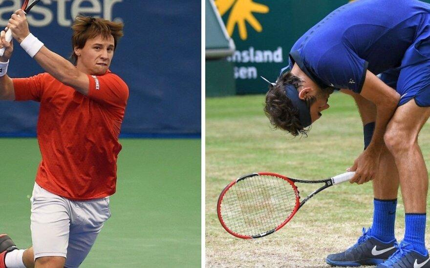 Berankis pasaulio reitinge išsaugojo vietą šimtuke, lyderiu tapo Federeris