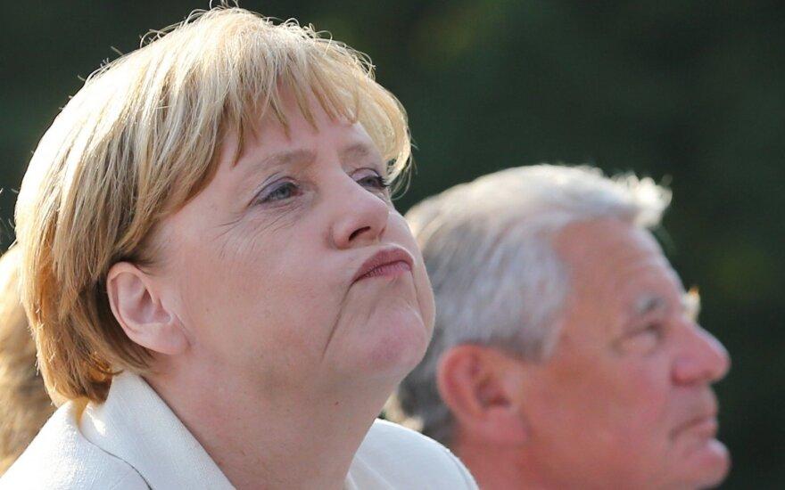 Nepavydėtina A. Merkel padėtis: viskas eina tik blogyn