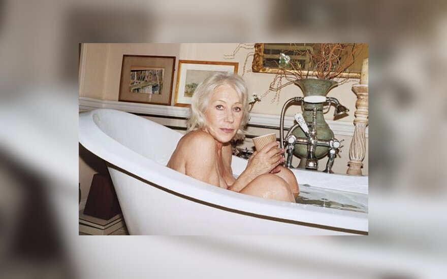 "Helen Mirren. ""New York Magazine"" nuotr."