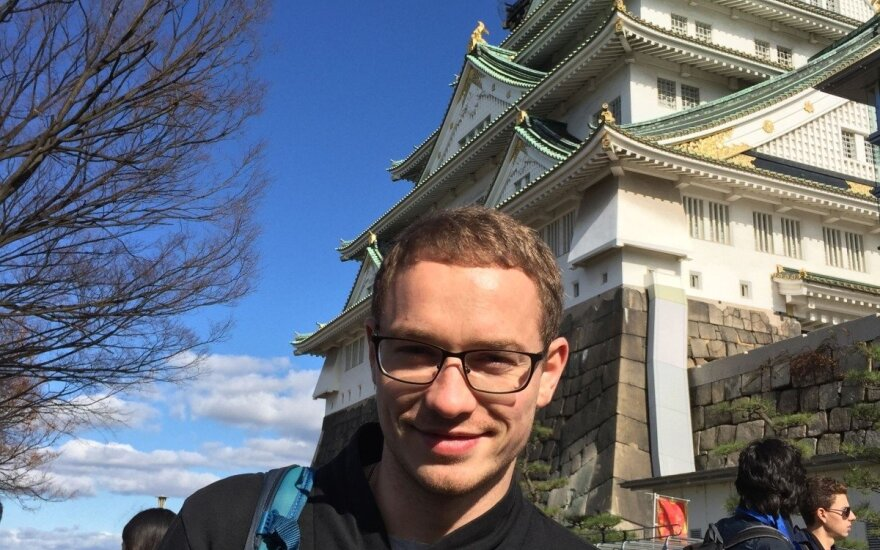 Japonijoje gyvenęs Edgaras: lietuviai galėtų išmokyti japonus vertinti šeimą ir kitokio požiūrio į moteris