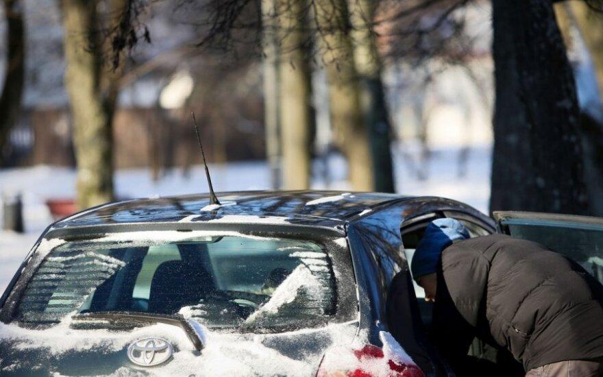 Eismo sąlygos: jei galite nevažiuoti, nevažiuokite