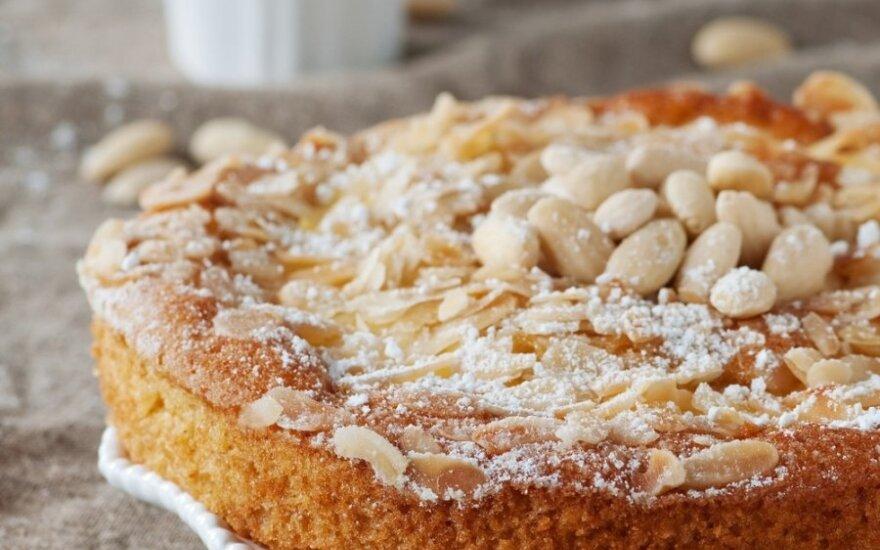 Portugališkas migdolų pyragas
