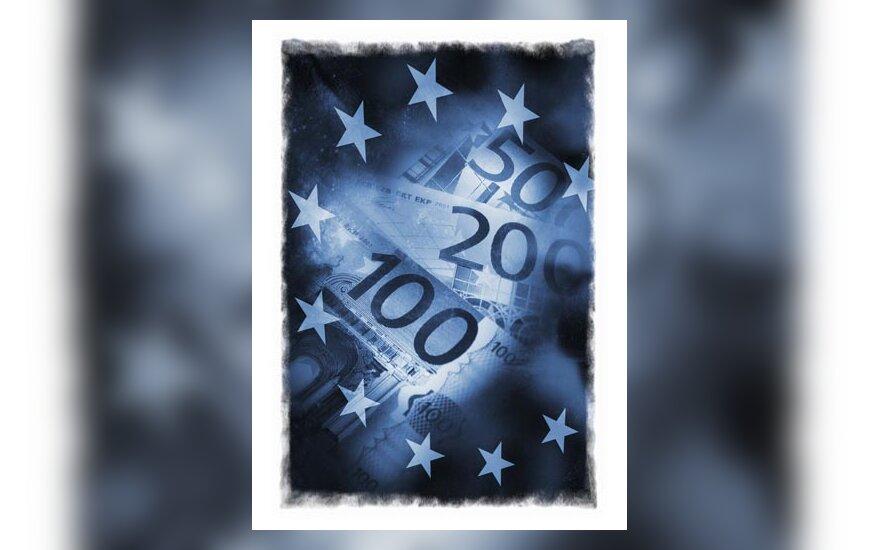 Pinigai, eurai, banknotai, verslas