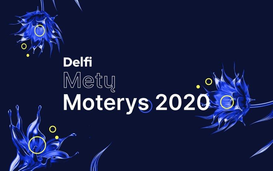 """""""Delfi Metų Moterys 2020"""" rinkimai"""