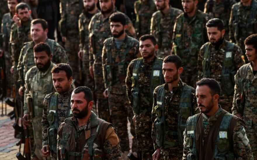 Sirijos kurdų pajėgos