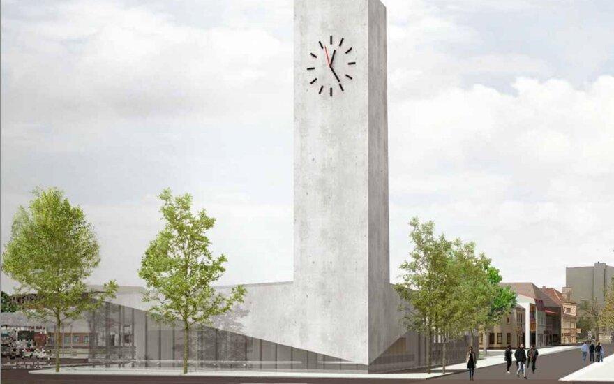 Įvertinkite: pristatyta, kaip galėtų atrodyti naujoji Panevėžio autobusų stotis