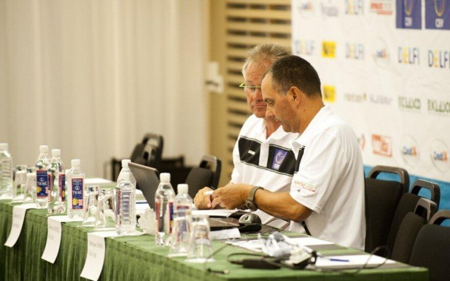 Europos U20 paplūdimio tinklinio čempionato rengėjai leido treneriams grįžti į aikštę