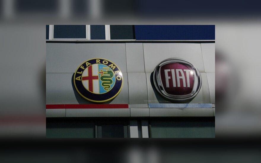 """""""Fiat"""" ir """"Alfa Romeo"""" automobiliai kainuos mažiau"""
