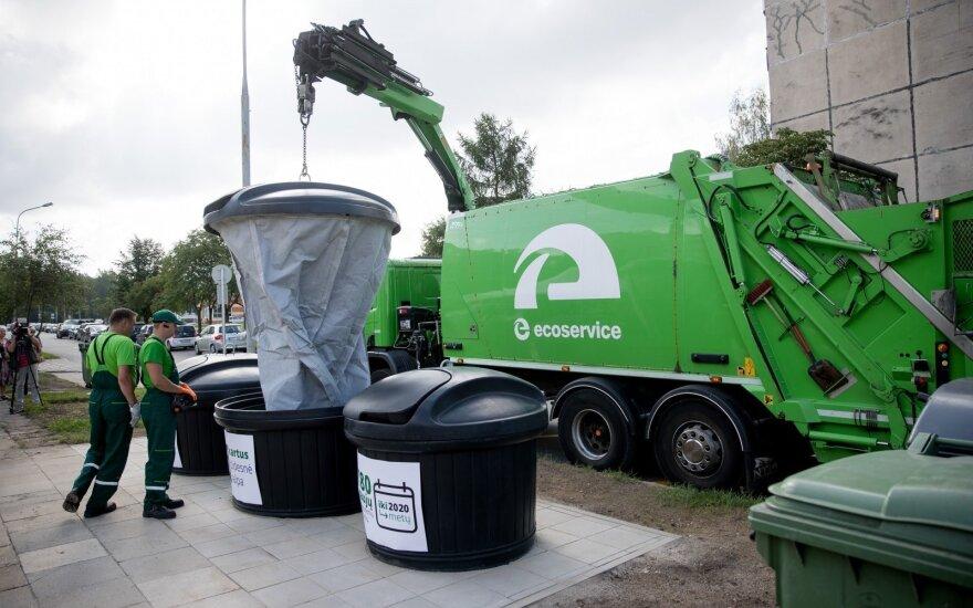 Vilniaus atsakymas: mokestis už atliekų išvežimo nesklandumus negali būti sumažintas
