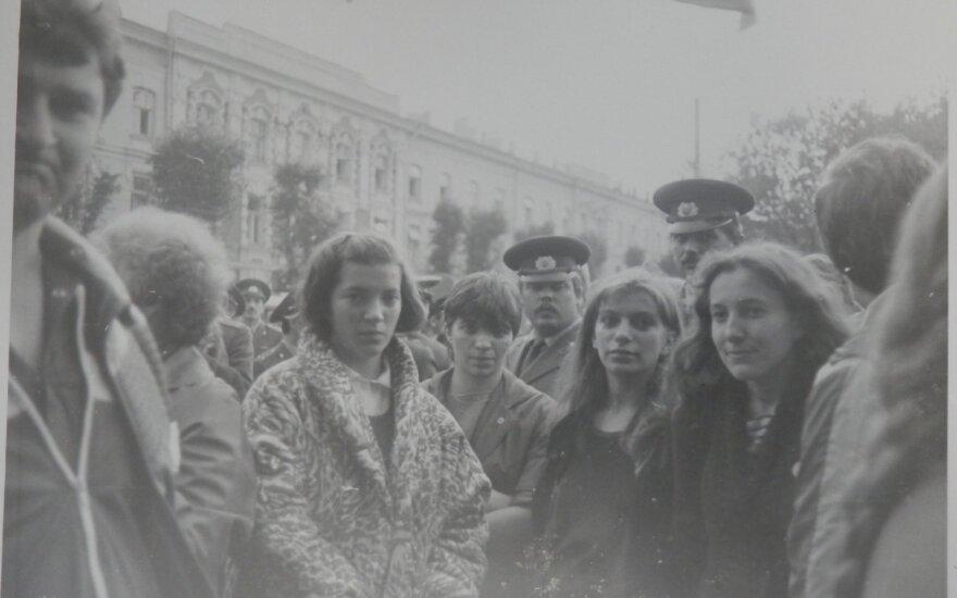 Lietuvos Laisvės Lygos mitingas