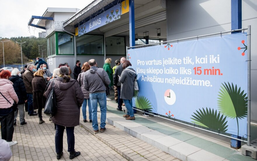 Vilnius ruošiasi skiepyti 45 m. gyventojus