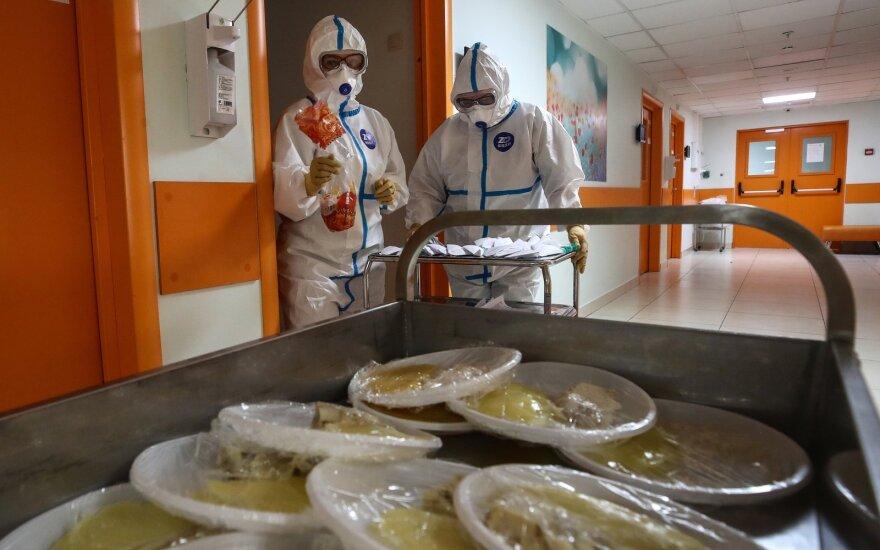 Rusija pagal užsikrėtusiųjų koronavirusu skaičių jau aplenkė Kiniją