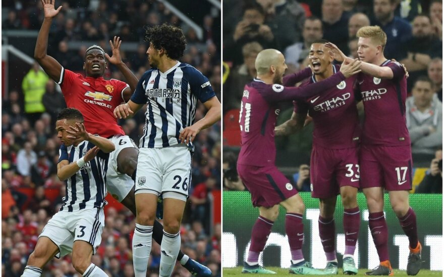 """Manchester United"" – ""West Brom"", ""Manchester City"