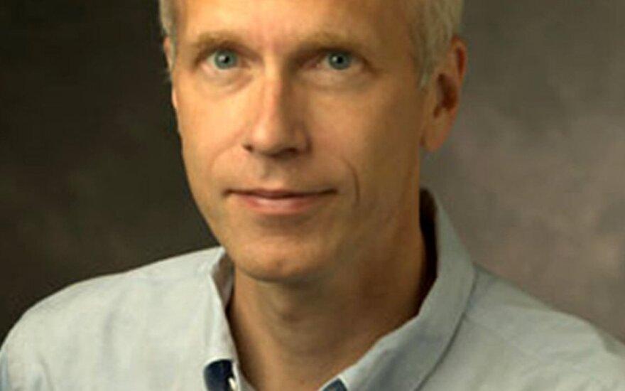 2012 m. Nobelio chemijos premijos laureatas Brianas Kobilka