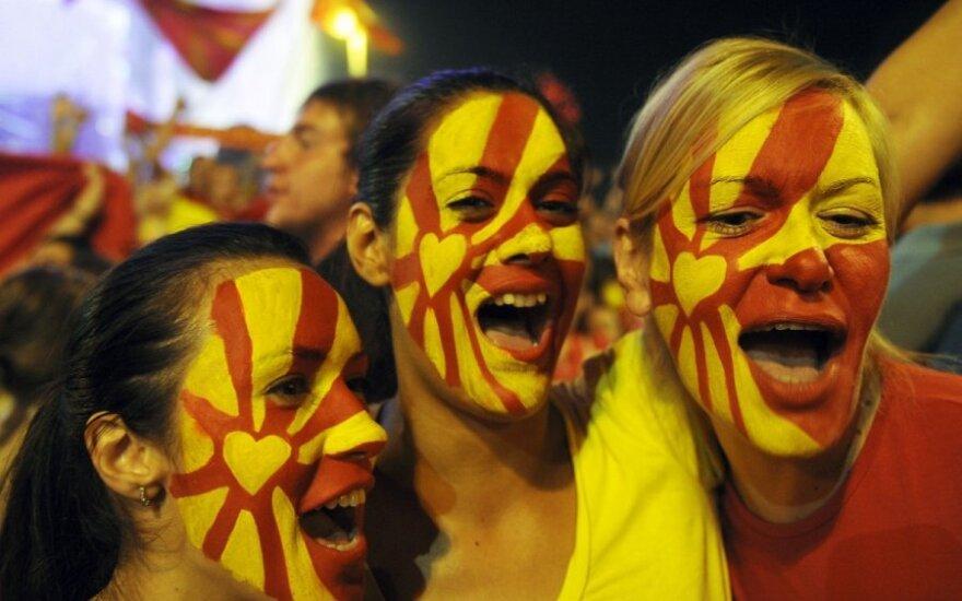 Kas makedonams kiša koją stojimui į ES?