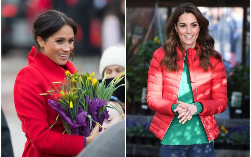 Meghan Markle ir Kate Middleton