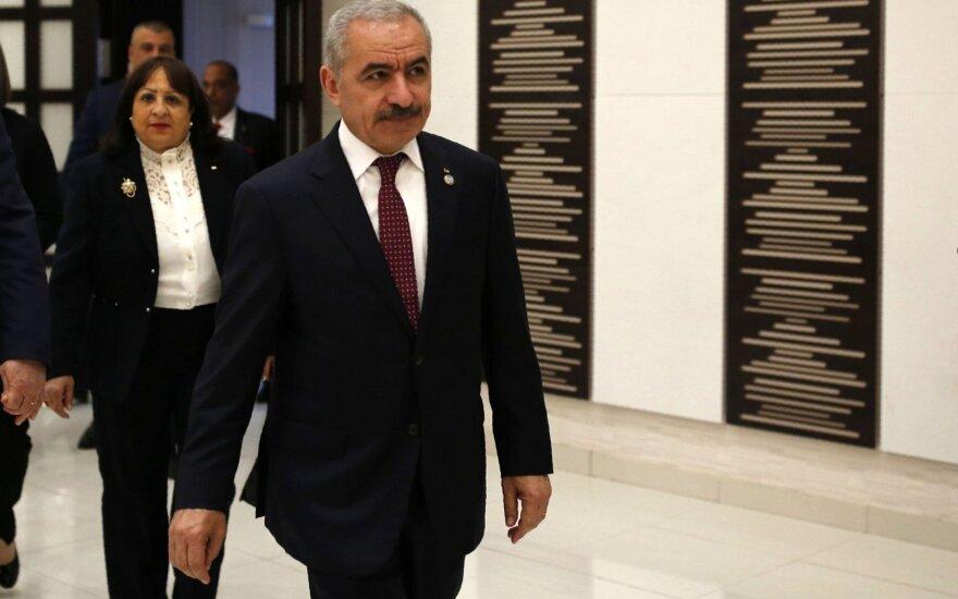JAV pasveikino naująją palestiniečių vyriausybę