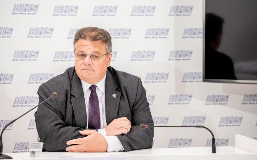 Linkevičius: tenka apgailestauti, kad Baltarusijos rinkimai nebuvo demokratiški