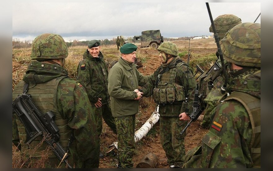 200 Lithuanian troops to join NATO's biggest exercise since 2002