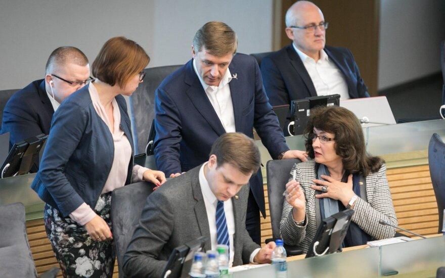 Rudenį Seimas ketina apsispręsti, kaip reglamentuoti savo darbą ir poilsį